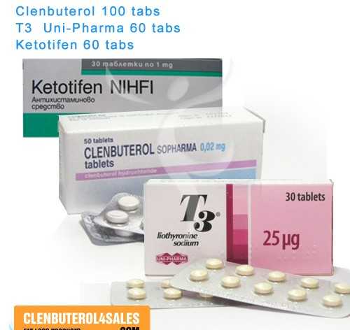 Clenbuterol T3 Ketotifen Cycle
