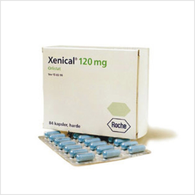 Xenical Packaging 84 caps