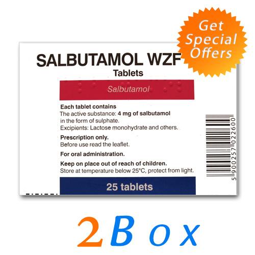 Buy Albuterol Online - Salbutamol Clen Clenbuteral