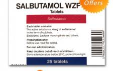 Salbutamol 8box- 200tabs